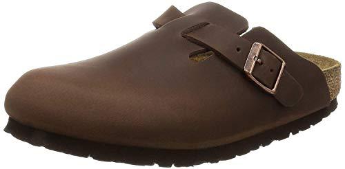 Birkenstock Schuhe Boston Geöltes Nubukleder Normal Habana (860131) 43 Braun