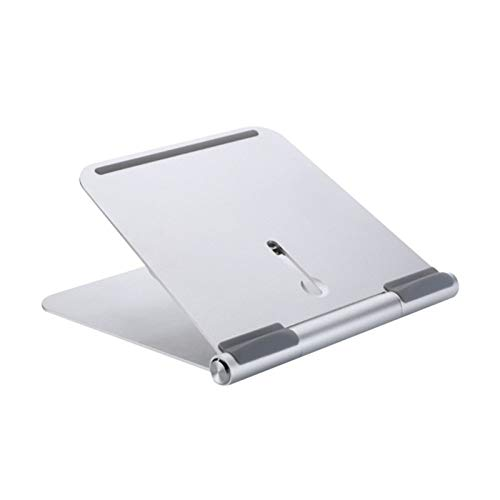 ROGF Computer stand Aluminum Alloy Computer Bracket Universal Suitable For Laptops And Tablets For laptop (Color : Silver, Size : 245x215x25mm)