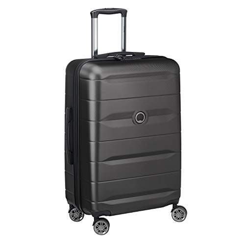 DELSEY PARIS Comete Suitcase 67 centimeters 64.099999999999895 Black (Negro)
