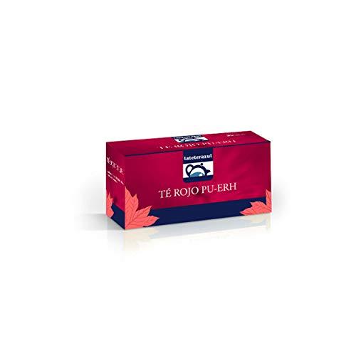 LA TETERA AZUL 150 Bolsitas De Te Rojo Pu Erh Infusionado Con Frutas. Infusion Adelgazante. 100 Bolsitas De 1,75 Gramos.