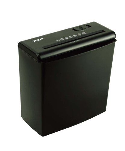 Macchina Distruggi Documenti 10 Litri Colore Nero