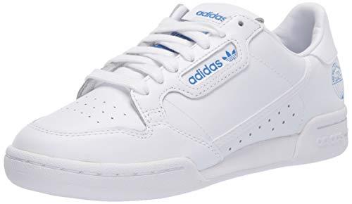 adidas Originals Continental 80 Shoes, Zapatillas Deportivas. para Hombre, FTWR White Bluebird-Reloj de Pulsera, 38 EU