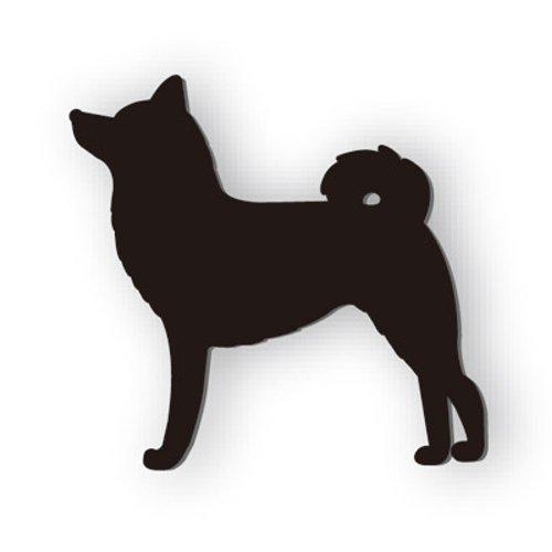 シルエットマグネット SM001 柴犬