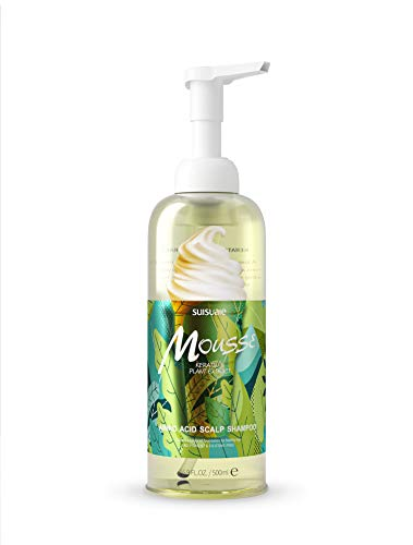Smooth Balance Shampoo - Volumizing Shampoo for Oily Hair with Amino Acids to Moisturize for Damaged Hair Shampoo all Hair Types by Suisuaie