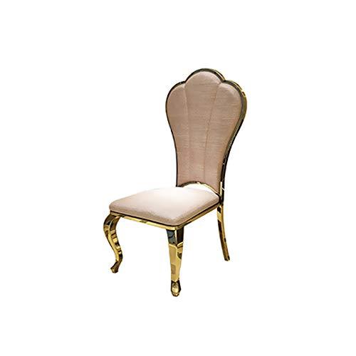 Mesa de Comedor, combinación de Mesa y Silla de Comedor de mármol, con Plato Giratorio, Mesa de Comedor Redonda, Base de Acero Inoxidable, Varios tamaños,B,6 Chair