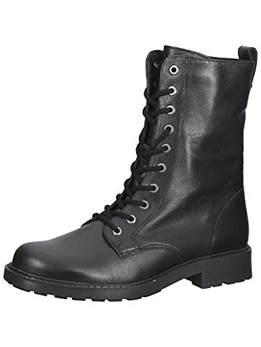 Clarks Orinoco2 Style Zapatos de motociclista para mujer, Black, 36 EU