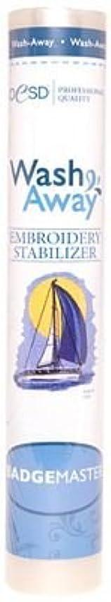 OESD Badgemaster AquaFilm Wash-Away Stabilizer White 12