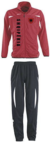 Aprom-Sports Albanien Trainingsanzug - Sportanzug - S-XXL - Fußball Fitness (M)