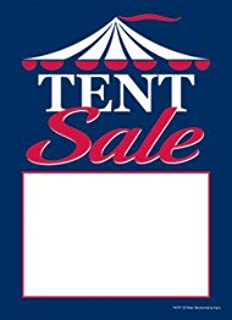 T50TET Tent Sale - Slotted Sale Tags - 5