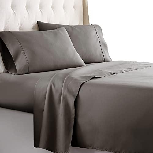Juego de sábanas de hotel de lujo Serie1800 Platinum Collection, la ropa de cama más suave de calidad superior, no se arruga y no destiñe (todos los tamaños y colores)