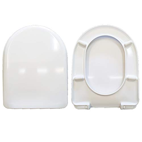 BELLAVISTA - Tapa para inodoro, termoendurecible, compatible