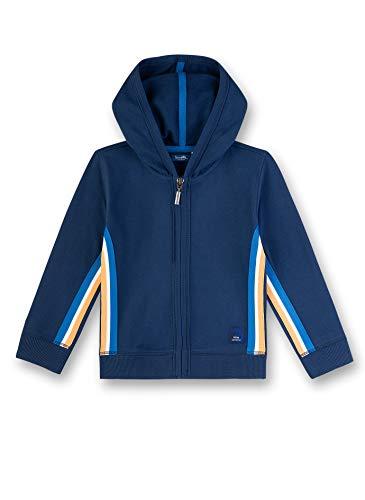 Sanetta Jungen Sweatjacke, Blau (Blau 50178), (Herstellergröße: 116)