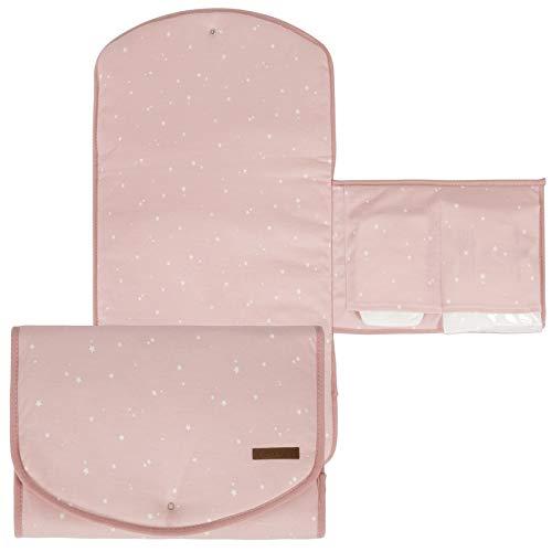 LITTLE DUTCH 3851 Wickelunterlage little stars pink Größe: 60x36 cm