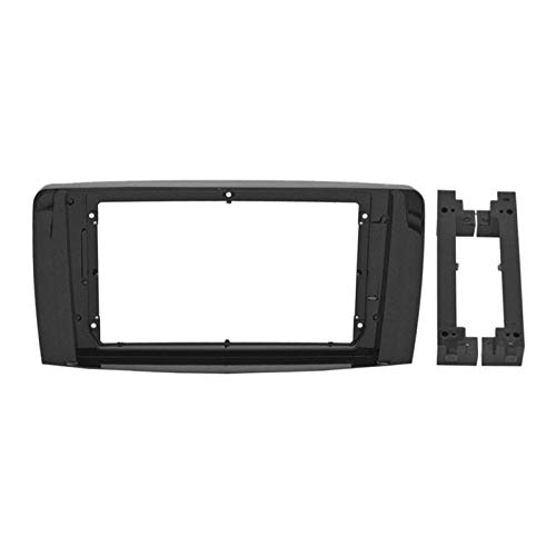 Danghe 2-1Din Car DVD Frame Audio Fitting Adaptador Dash Trim Kits Facia Panel 9 pulgadas para BENZ R Class W251 R280 R300 2006-2013