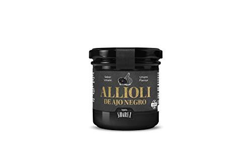 Allioli de Ajo Negro - Familia Suarez - Tarro 135 gr