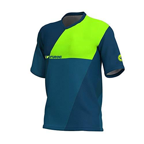 Uglyfrog Head MX Jersey Street Rebel Orange - Langarm Funktions-Shirt Für Moto-Cross, BMX, Mountain Bike, Offroad