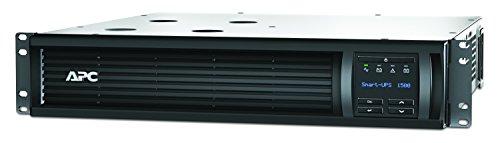 APC Smart-UPS SMT-SmartConnect - SMT1500RMI2UC - Unterbrechungsfreie Stromversorgung 1.500VA (Rackeinbau 2U, Cloud-monitoring fähig, 4 Ausgänge IEC-C13)