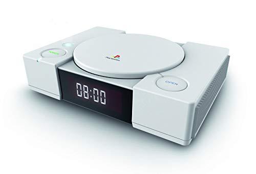 Bigben Interactive PS1AC wekker, rechthoekig, 105 mm, 38 mm, 149 mm, wit