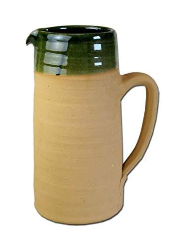 Historischer Bier - Schankkrug aus Ton 2,0 Liter Bierkrug Mittelalter LARP Wikinger