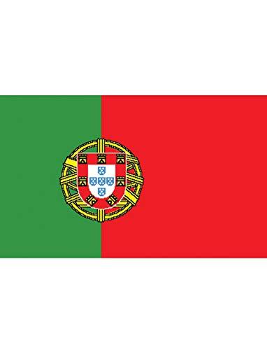 """TrendClub100® Fahne Flagge """"Portugal PT"""" - 150x90 cm / 90x150cm"""