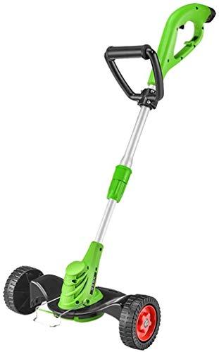 Inicio Accesorios Podadoras de césped ligeras y potentes para exteriores Cortadora de césped con rodillo de rueda y cortadora de jardín inalámbrica para setos de ramas de árboles Cortadora de borde