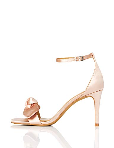 Marca Amazon - TRUTH & FABLE Zapatos de Dama de Honor Mujer