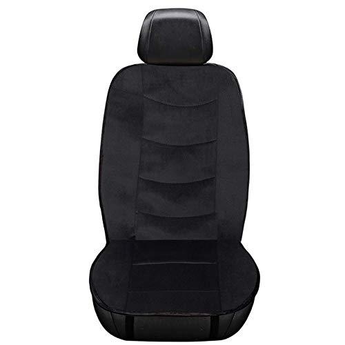 WOLTU HF002sz Sitzheizung Auto Heizkissen Heizauflagen Heizung für Sitz & Rücken Überhitzungsschutz 12V 101,5 cm x 46 cm Schwarz