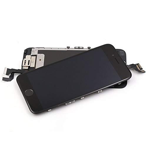 LECHI Voor iPhone 6S Scherm Vervanging Display - Nieuwe LCD met Home Button Front Camera + Nabijheidsensor + Ear Speaker Volledige Touch Digitizer Assembly Frame + Gereedschap (Zwart)