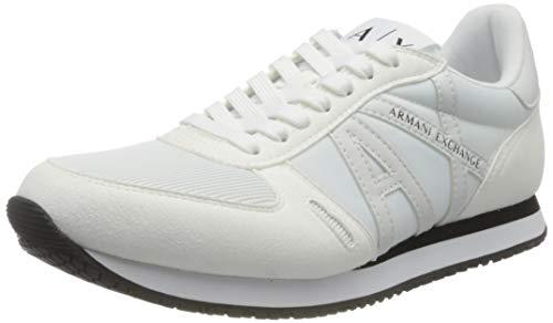 Armani Exchange Rio Sneakers, Zapatillas Hombre, Blanco, 41 EU
