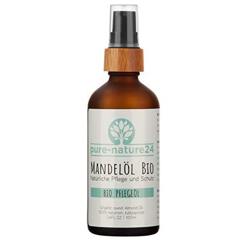 Bio Mandelöl Premiumprodukt von höchster Reinheit und Qualität. Made in Germany.100ml, immer frisch