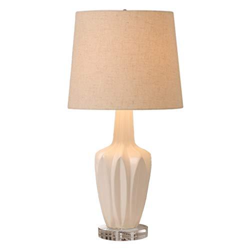 Lámpara de Mesa Cerámica del dormitorio lámpara de mesa lámpara de cabecera simple romántica de la sala nórdica lámpara de mesa de la manera creativa lámpara de mesa viene del bulbo Lámparas de Escrit