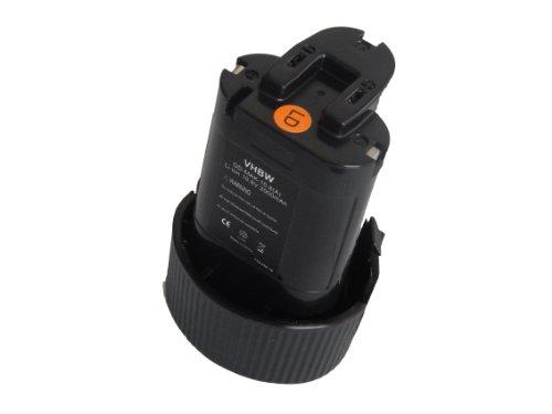 vhbw batería Li-Ion 2000mAh (10.8V) para herramientas MR051, MR051W, RJ01, RJ01W, TD090D, TW100 y Makita 194550-6, 194551-4, BL1013, BL1014.
