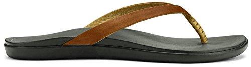 OluKai Damen Ho'Opio Leather Sandale Trekkingsandalen