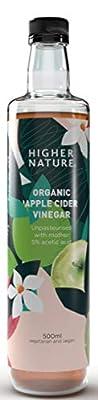 Higher Nature Organic Apple Cider Vinegar 350ml from Higher Nature
