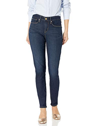 Signature by Levi Strauss & Co Women's Totally Shaping Skinny Jeans, Gala, 12 Long