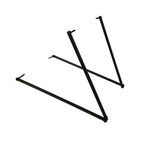 Jourad Shooting Target Holder, 40-80cm Size Portable Folding Target Bracket for Archery Targets