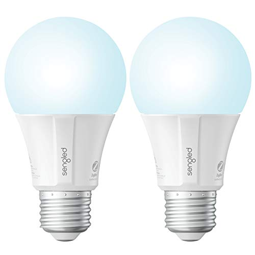Sengled Smart Light Bulb, Smart Bulbs That Work with Alexa, Google Home (Smart Hub Required), Smart Bulb A19 Alexa Light Bulbs, Smart LED Daylight (5000K), 800LM, 9W (60w Equivalent), 2 Pack
