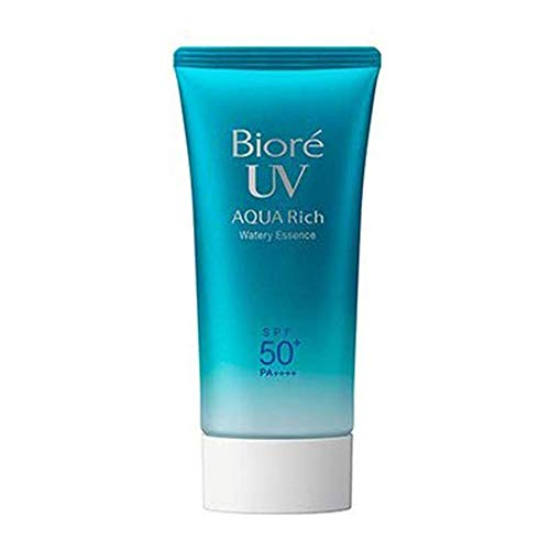 Biore UV Aqua Rich Water Wreath Essence Type SPF50+/PA++++ 2017 Version 50g (Green Tea Set)