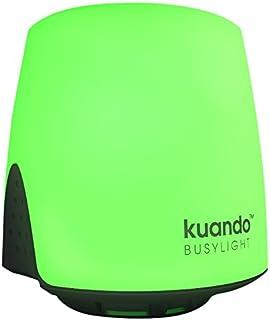 PLENOM AMERICAS Kuando Busylight UC Omega - for Microsoft Lync/Skype for Business, Cisco Jabber & Various UC Platforms (Adhesive Mount)