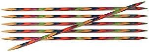 Knit Pro Symfonie - Agujas para Tejer de Doble Punta (10 cm x 2,75 mm), Multicolor
