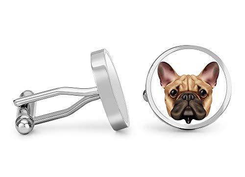 Oakmont Cufflinks French Bulldog Cufflinks Bulldog Cuff Links