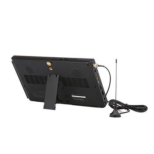 Ajzar LEADSTAR 10 Pulgadas Pantalla Digital Portátil ATSC TFT HD Reproductor de Vídeo LED para TV con TDT para Caravana de Coche...