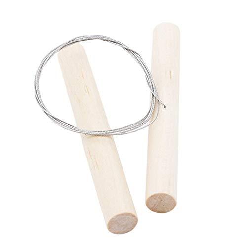 XINGJIJIJIA Opener Umweltfreundlich Käsehobel Küchenwerkzeuge Stahldraht + Holzgriff Seifenschneider Käseschneidewerkzeug aus Holz Messer Seifenherstellung Kits Handbuch (Color