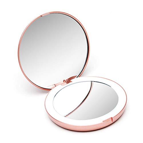 Fancii Espejo de Maquillaje con Luz LED Natural - Espejo Iluminado con