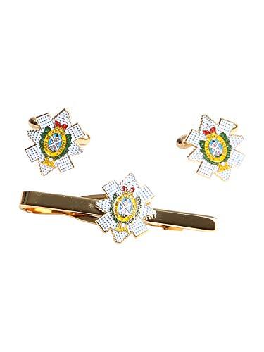 Coffret cadeau Boutons de manchettes et blackwatch Bike It Sangle, regimental giftware, militaire et accessoires