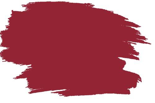 RyFo Colors Silikonharz Fassadenfarbe Lotuseffekt Trend Kirschrot 10l - bunte Fassadenfarbe, weitere Rot Farbtöne und Größen erhältlich, Deckkraft Klasse 1