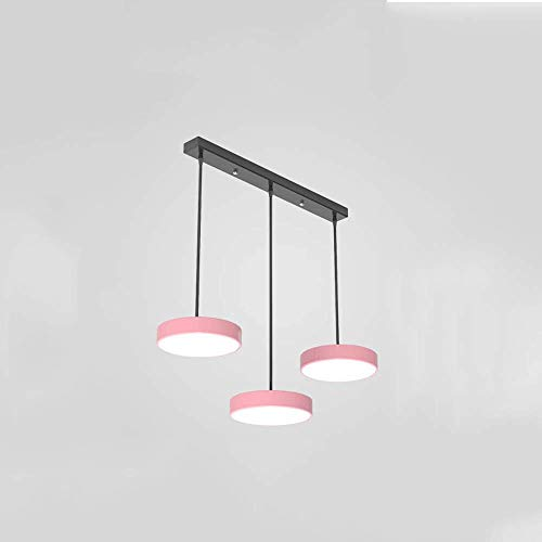 Estilo europeo Macaron Colgante Luz Moderno y simple Drop Light Interior Creatividad Chandelier LED Múltiples luces colgantes de cabeza Adecuados para sala de estar Mesa de comedor Luces decorativas