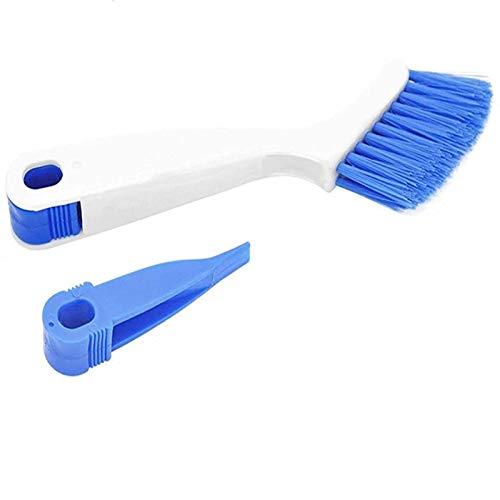 Cepillo de limpieza de cocina, cepillo de baño para botellas, cepillo de limpieza de lechada de esquina de bordes, cepillo de limpieza de puertas correderas o ventanas