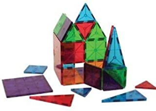 3 Years & Up - Magna-Tiles Clear Colors 100 Piece Set