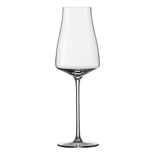 Zwiesel 1872 Wine Classics Champagner 77, 2er Set, Champagnerglas, mit Moussierpunkt, Sektglas, Mundgeblasenes Glas, 351 ml, 117699